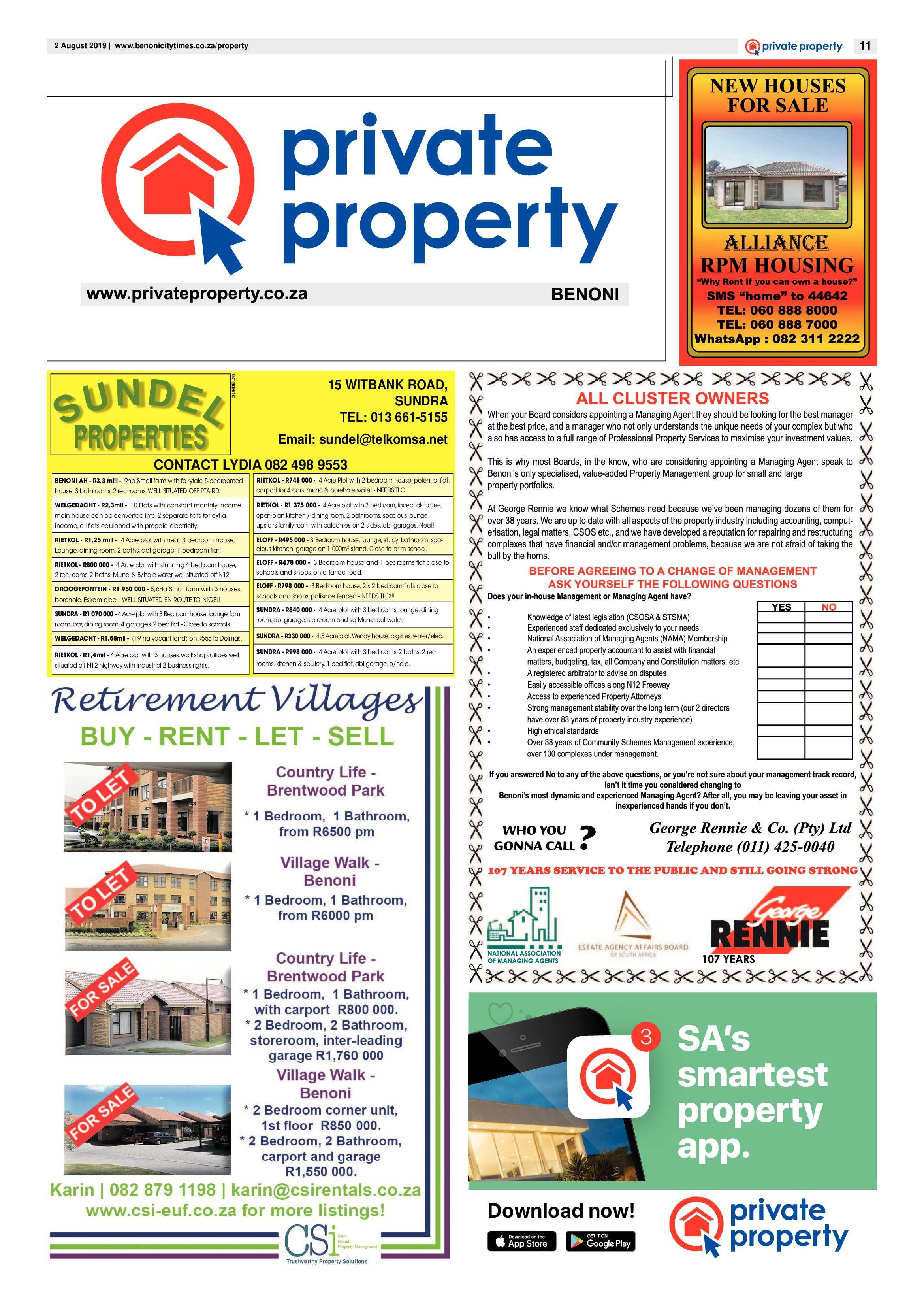 Benoni City Times 01 August 2019   Benoni City Times